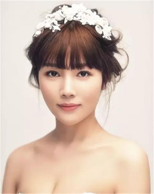简约新娘发型推荐 2017新娘发型