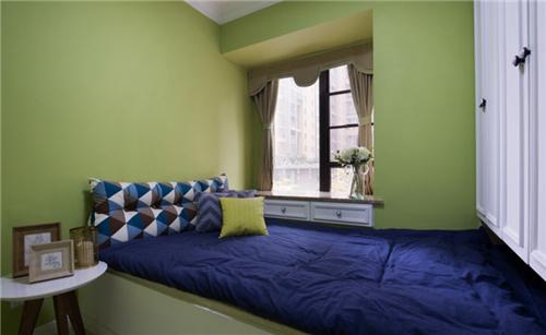 六十平米小户型装修效果图 5万打造60平方清新绿色两居