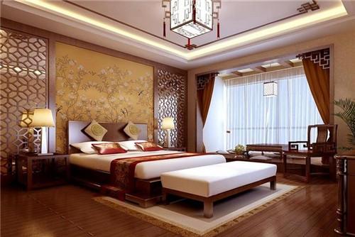 卧室床铺装修效果图 卧室装修床铺选择攻略图片