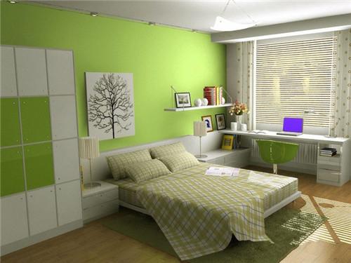 长条形卧室装修效果图 长方形卧室装修设计技巧图片
