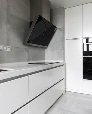 144平简约四房装修厨房实景图
