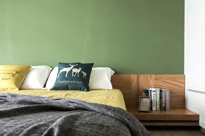 70平loft风格公寓主卧室设计