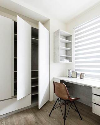 70平loft风格公寓书房效果图