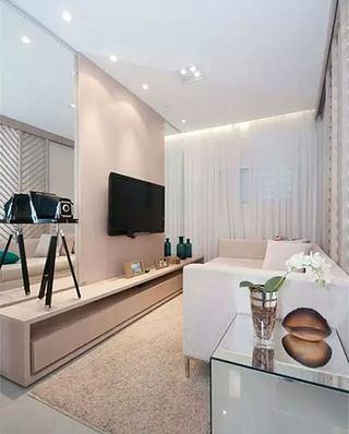 小户型装修客厅电视背景墙