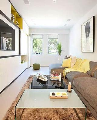 10个小户型客厅装修效果图 打造经济适用家9/10
