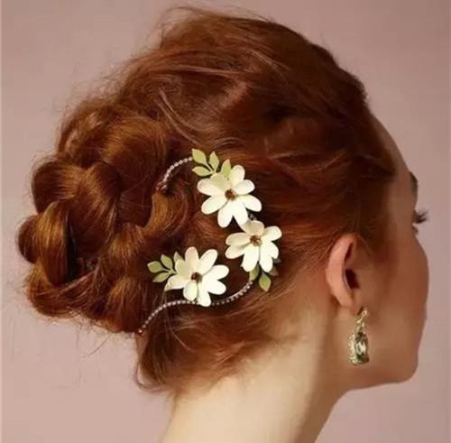 新娘跟妆发型图片 韩式新娘发型详细步骤