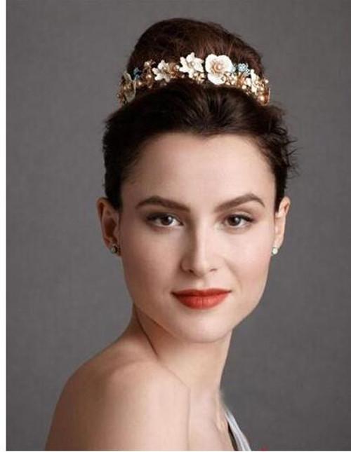欧美新娘发型图片2017款 如何打造欧美新娘发型图片