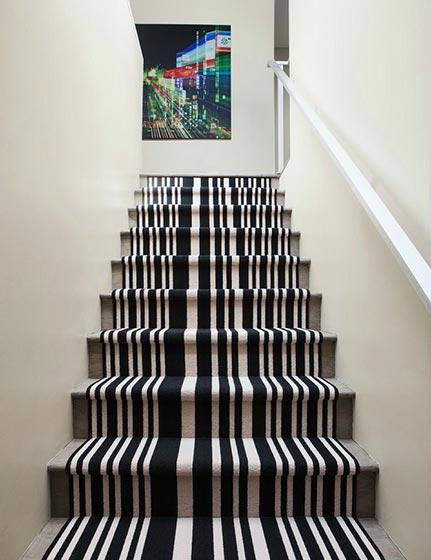 楼梯地毯装修欣赏图
