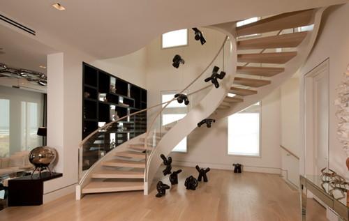 楼梯效果图 带楼梯的客厅装修是你想要的吗