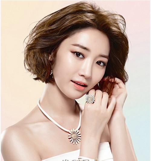 韩式短发婚纱照怎么好看 短发婚纱照都有什么造型图片