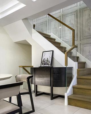 200平复式楼装修楼梯装修图