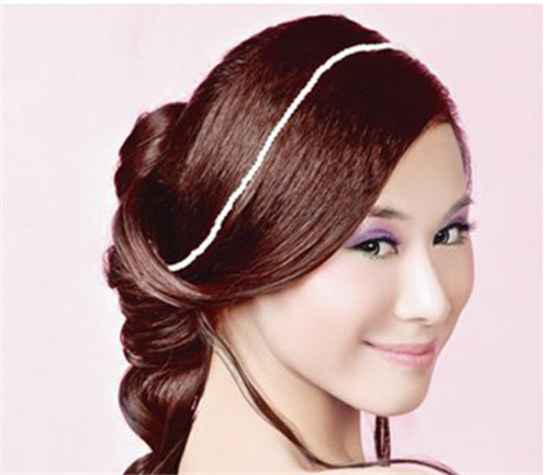 韩式新娘头怎么扎好看 2017韩式新娘发型推荐图片