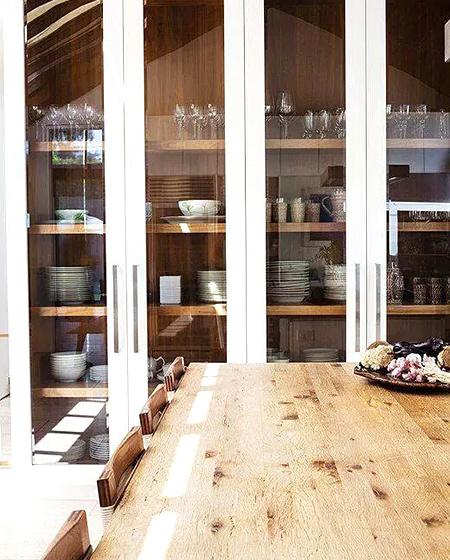 大户型装修餐厅橱柜效果图