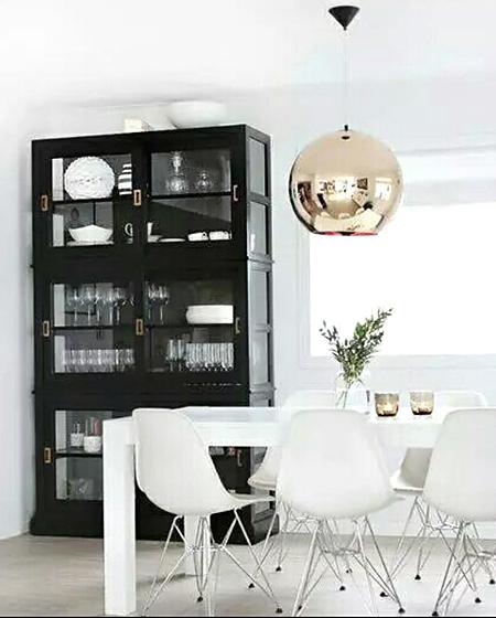 餐厅装修餐边柜碗柜设计