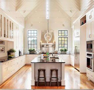 美式开放式厨房图片大全