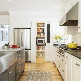 美式开放式厨房效果图