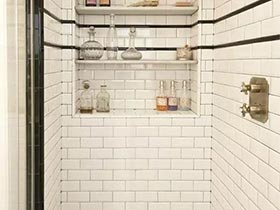 小白鞋般的小白砖  10个卫生间小白砖图片