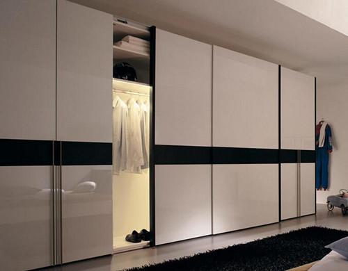 大衣柜移门效果图 卧室衣柜移门设计必杀技图片