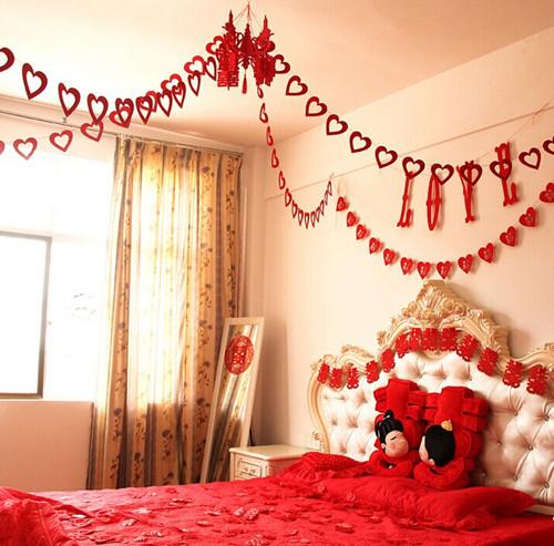 新婚房间布置需要准备哪些东西 2018婚房布置图片欣赏