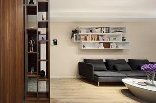100平简约二居室客厅效果图