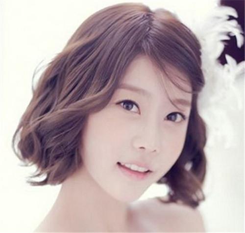 新娘发型短发图片欣赏