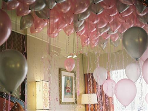 气球如何装饰婚房 使用什么颜色的气球装饰婚房好