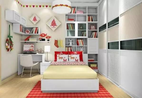 10平卧室装修效果图 小卧室实用装修方案