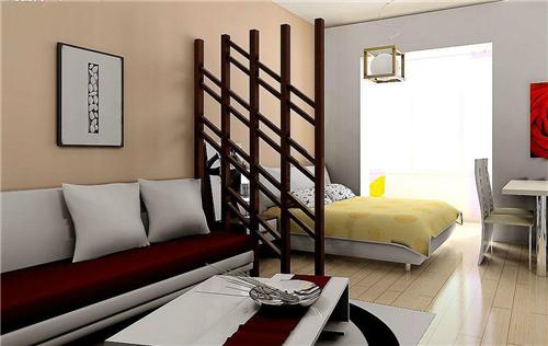 卧室和客厅隔断效果图 隔断原来也能这么美