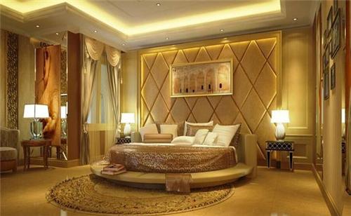 软包床头背景墙效果图 打造优雅时尚卧室空间