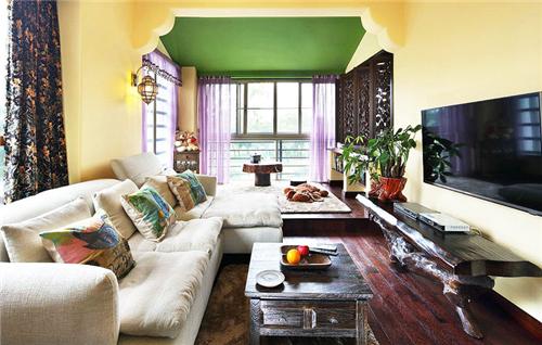 40平米公寓装修效果图 40平公寓打造醉人东南亚风