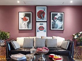 135平美式风格三居装修效果图 午后生活