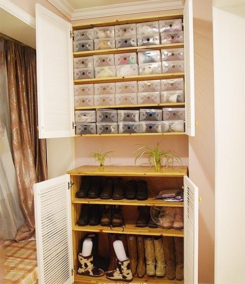 玄关鞋柜装修效果图