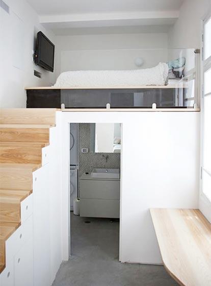 小复式单身公寓设计图