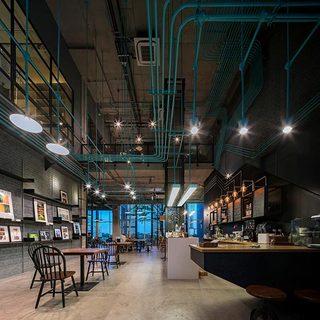咖啡厅装修装饰效果图
