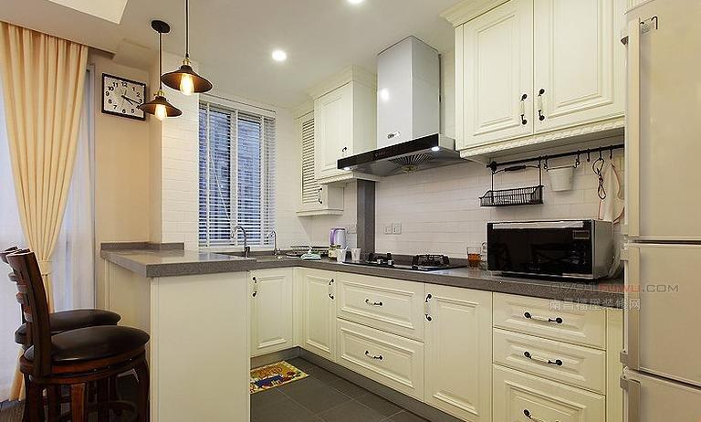 家庭主妇最爱的厨房设计 解决小户型厨房难题