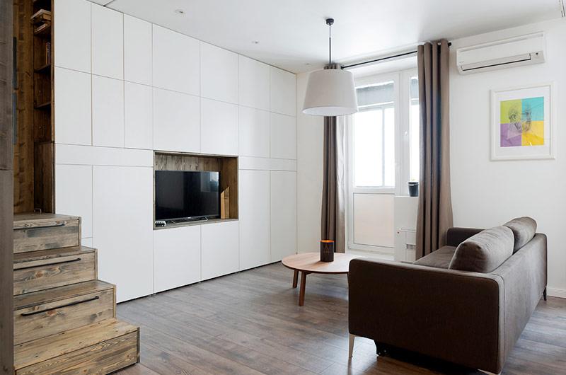 35平小户型装修客厅设计图