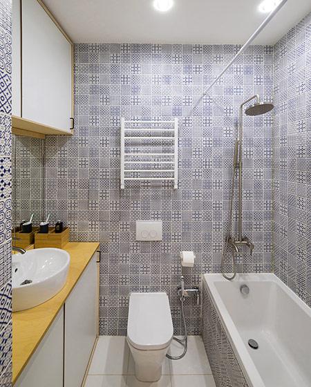 35平小户型装修卫生间装修图