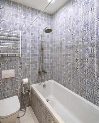 35平小户型装修卫生间瓷砖图片