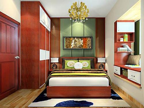 小房间榻榻米床装修效果图