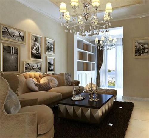 15平方客厅装修效果图 文艺单身女酷爱的小客厅