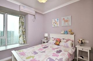 110平混搭四居室儿童房效果图设计