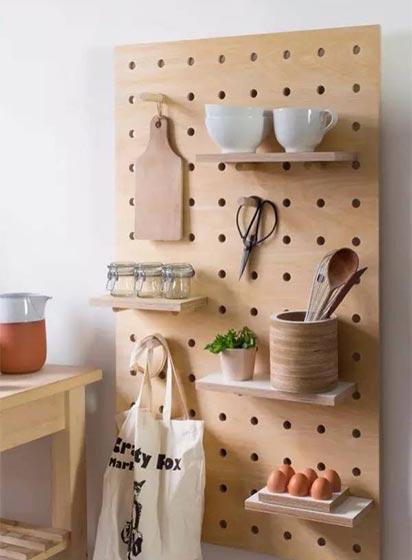 厨房洞洞板布置平面图