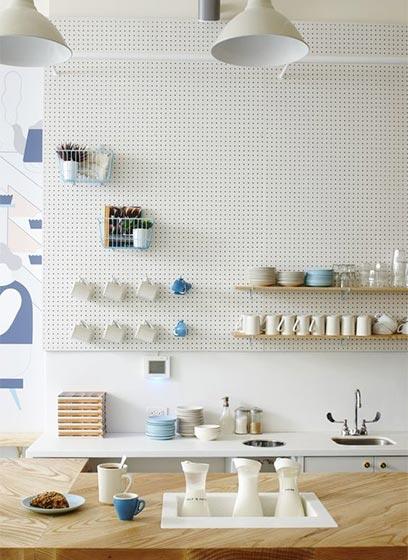厨房洞洞板装修设计图片