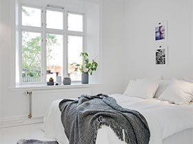 用最简洁说话  10款极简风卧室设计图片