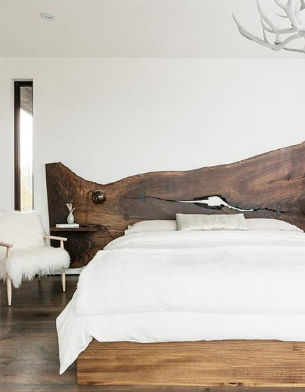 极简风卧室装修装饰效果图