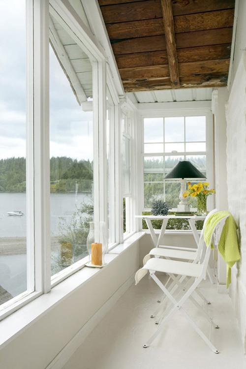 卧室阳台装修效果图大全 卧室阳台的创意实用设计