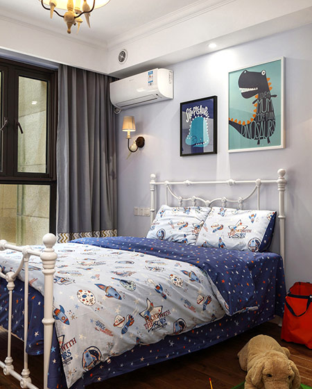 145平美式四居室儿童房设计