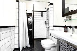 61平小户型loft公寓卫生间装修