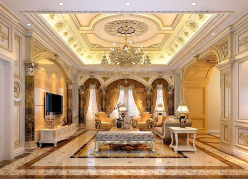 欧式别墅装修效果图 简欧别墅卧室装修尽显高大上