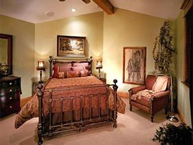旧旧的温馨  10款美式复古卧室效果图